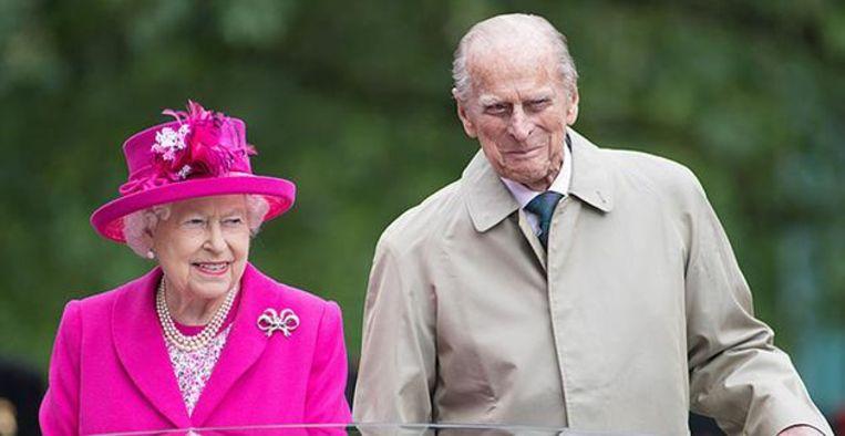 De Britse koninklijke familie Beeld Getty