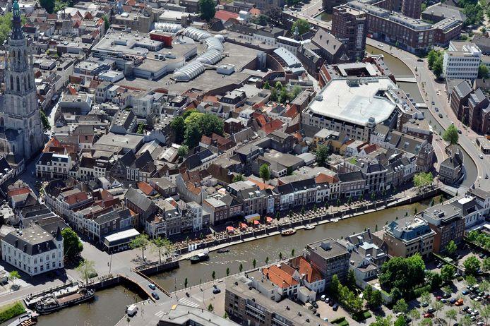 Het centrum van Breda.