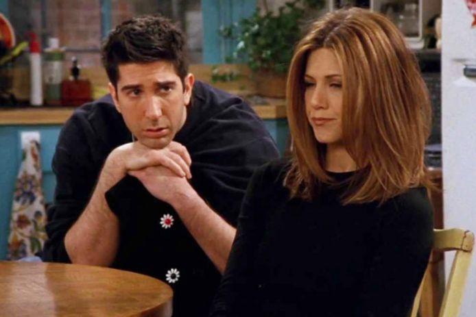 Ross en zijn grote liefde Rachel.