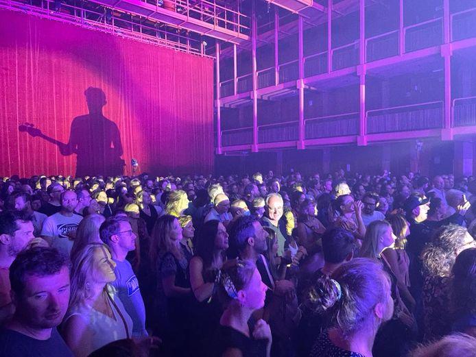 Concert de Chicos y Mendez lors de la réouverture de l'Ancienne Belgique le 5 septembre 2021.