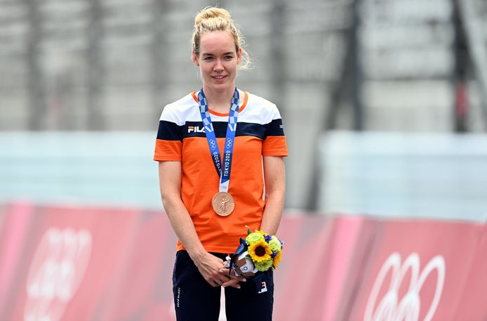 Brons: Anna van der Breggen (wielrennen, individuele tijdrit, vrouwen)