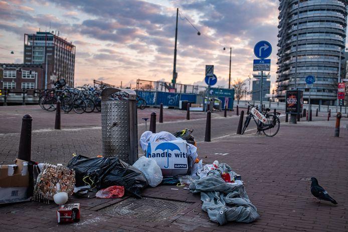 De hoeveelheid huishoudelijk afval door de lockdowns en het thuiswerken is enorm gestegen.
