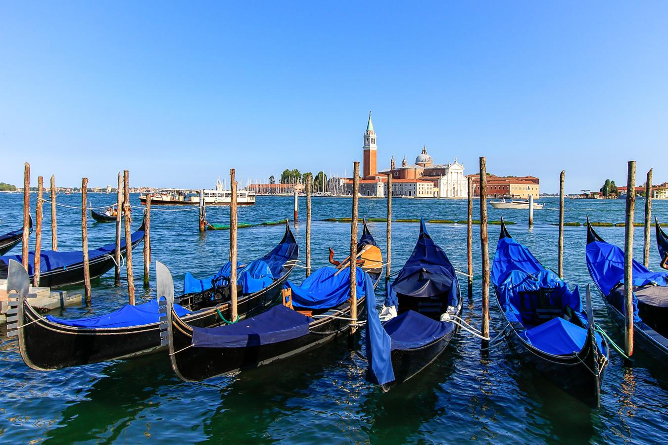 Venetië, een van de bestemmingen van de slaaptrein.