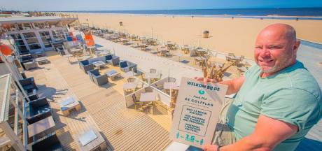 Strandtenten Scheveningen zijn 'klaar om weer open te gaan'