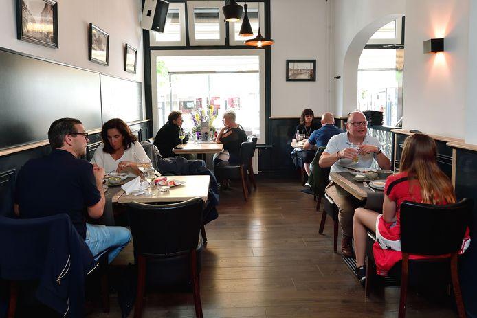 Uit eten bij brasserie Puur in Steenbergen.