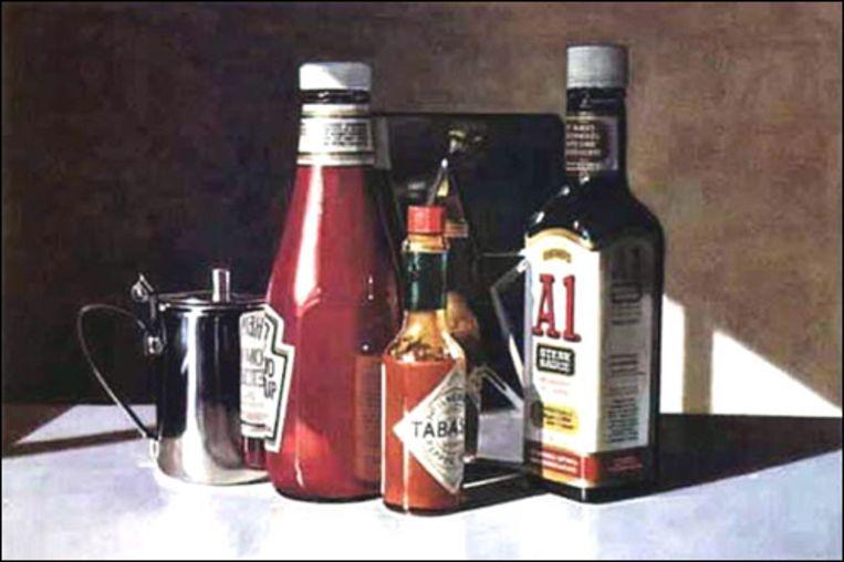 Ralph Goings, A1 Sauce, 1995 Beeld The Estate of Ralph Goings