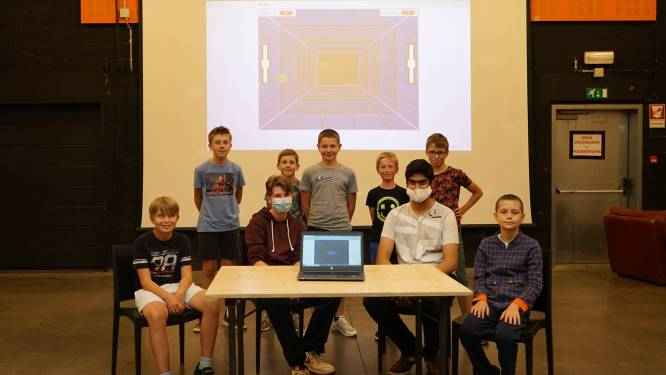 Junior Argonauts ontwikkelen eigen computergames tijdens zomerkamp in JOC De Nartist