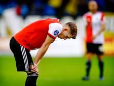 Spelers Feyenoord geloven heilig in afjaagtactiek Slot, maar na Europese duels gaat het mis