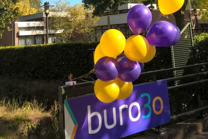 Het logo van Buro3o.