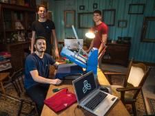 Drie vrienden maken sportkleding van hennep en eucalyptus