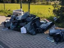 Afval van ontmantelde wietkwekerij gedumpt in Groesbeek