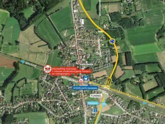 Werken in Hansbeke: kruispunt aan Huis D'haenens afgesloten en opening tunnel uitgesteld
