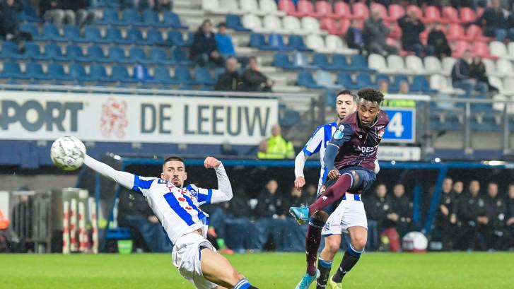 Stuntploeg Willem II wint ook in Heerenveen en staat derde