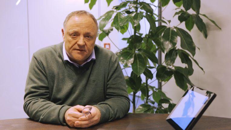 Viroloog Marc Van Ranst. Beeld Dries Vermeulen