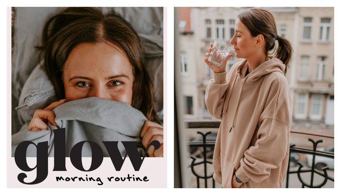 Laurentine Van Landeghem op de cover van haar nieuwe e-book.