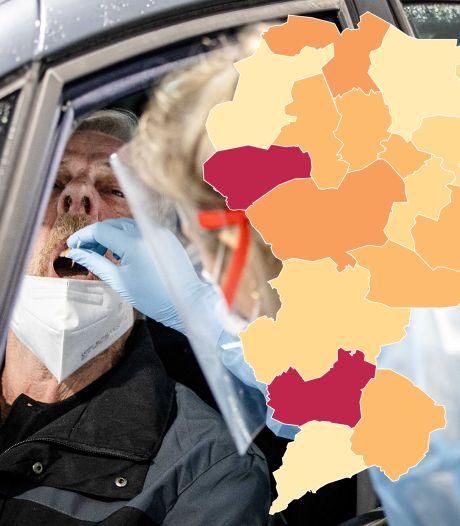 Twentse coronacijfers: 218 nieuwe besmettingen, 2 sterfgevallen