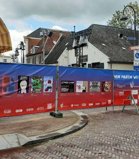 5 Mei Plein in Wageningen afgesloten voor publiek vanwege ceremonies 4 en 5 mei