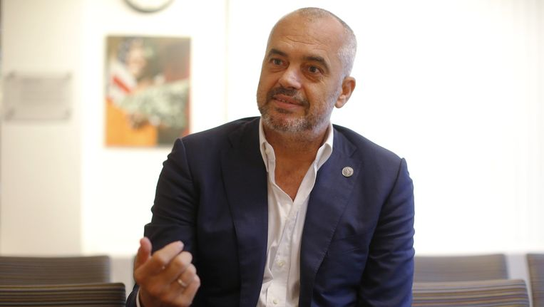 Premier van Albanië Edi Rama. Beeld reuters