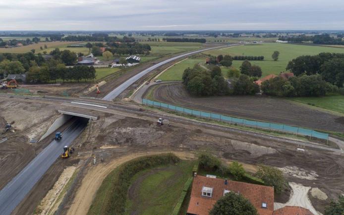 Het eerste deel van de nieuwe Randweg Baarle is geopend.