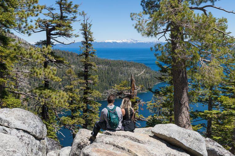 Desolation Wilderness is een uitgestrekt wandelgebied aan de oevers van Lake Tahoe. Beeld Jonathan Vandevoorde