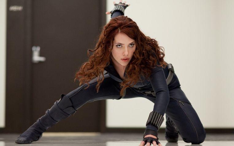 Scarlett Johansson als Natasha Romanoff.