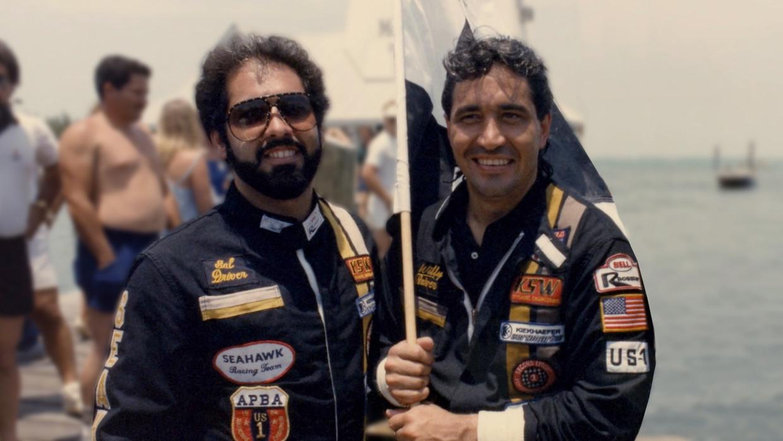 Salvador 'Sal' Magluta en Augusto 'Willy' Falcon.  Beeld Reporters / Splash