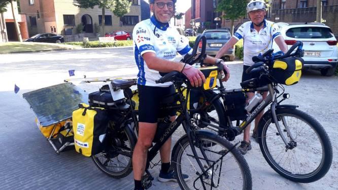 """Kris Wuyts uit Vorselaar trekt drie maanden door Europa met 'zonnepanelenfiets': """"Klaar voor tocht van meer dan 10.000 kilometer"""""""