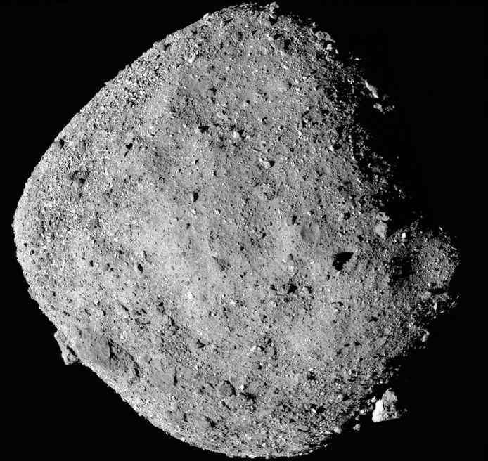 Afbeelding van een asteroïde