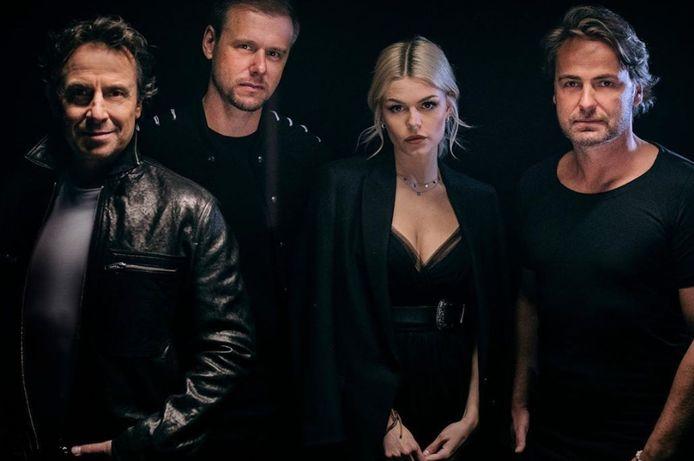 Marco, Armin, Davina en John Ewbank.