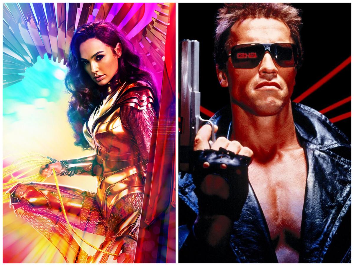 Wonder Woman 1984 en The Terminator (uit 1984).