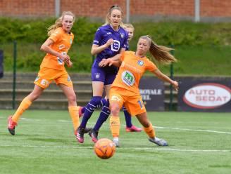 """Lyndsey Van Belle hoopvol na zege AA Gent Ladies bij Standard: """"We geven tweede plaats nog niet op"""""""