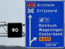 A12 bij Arnhem weer vrij na ongeluk