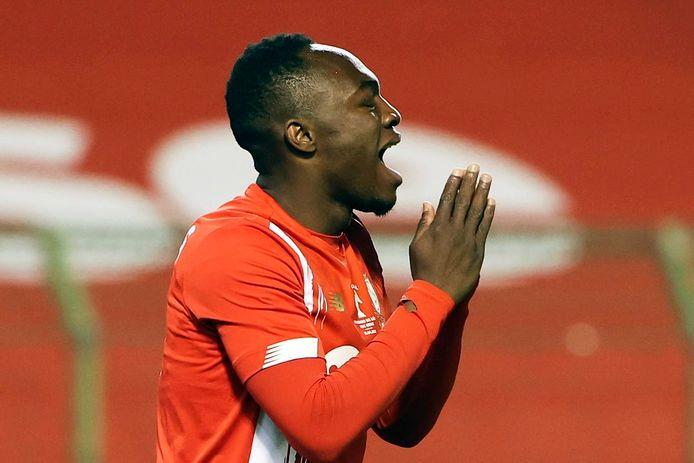 Le but de Jackson Muleka est tombé trop tard pour le Standard.