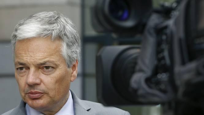 """Reynders: """"Verantwoordelijken aanval VN-school moeten vervolgd worden"""""""