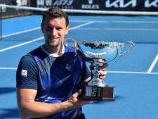 Un premier Grand Chelem en simple pour le Belge Joachim Gérard à l'Open d'Australie