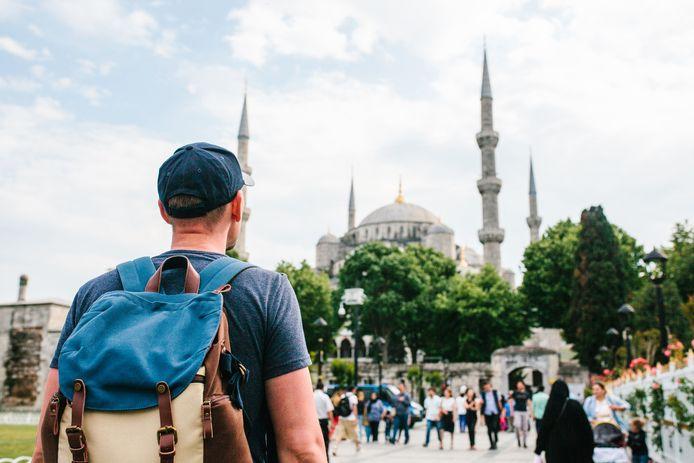 Beeld ter illustratie. De Sultan Ahmet Moskee, ook wel de Blauwe Moskee genoemd, in Istanboel