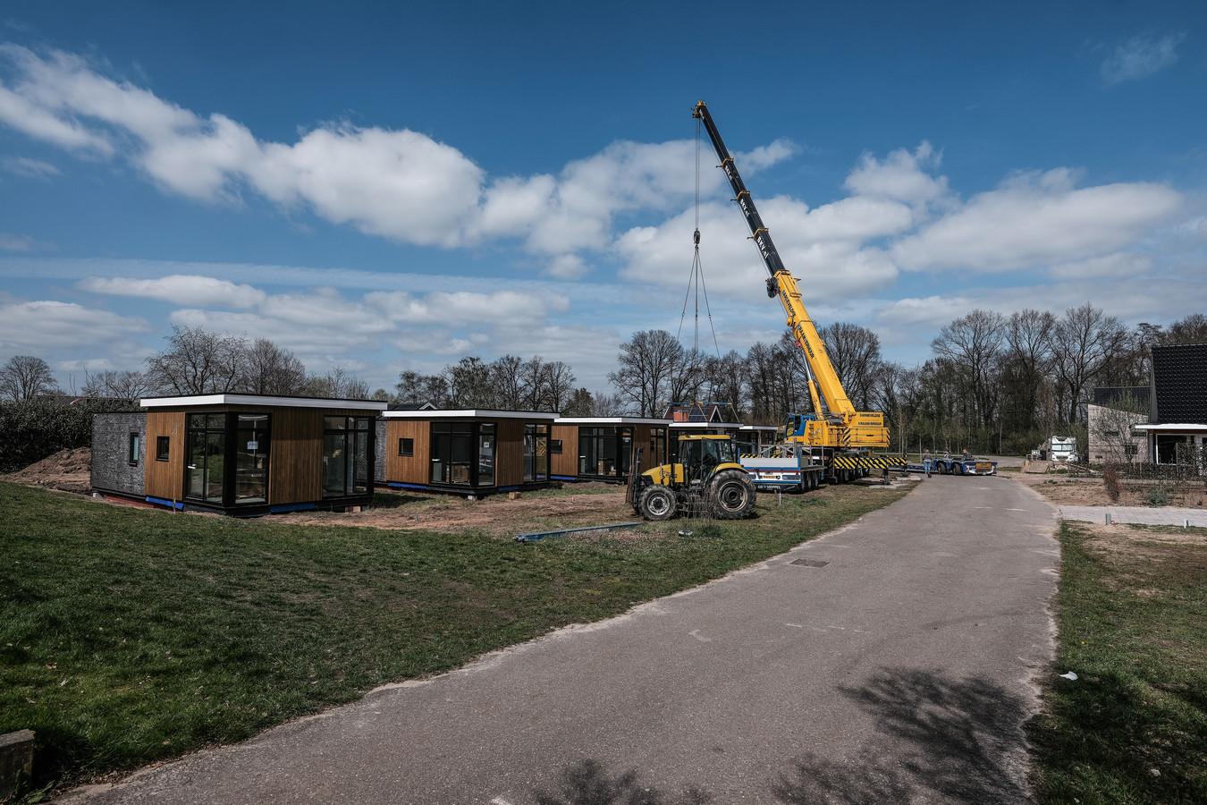 Tiny houses in Aalten, foto ter illustratie