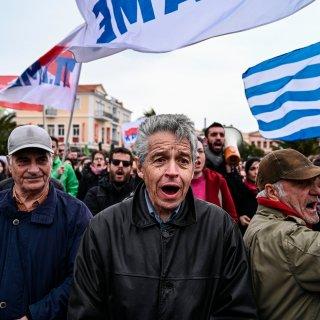 Weer protesten op Lesbos tegen nieuwe migrantenkampen