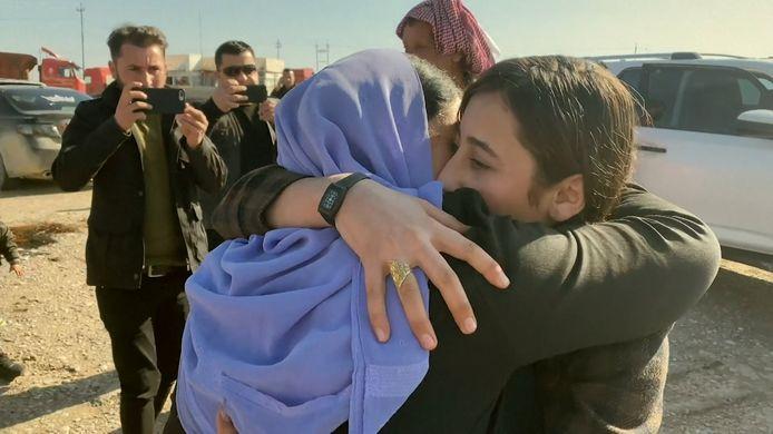 IS-gevangene is na 7 jaar terug thuis