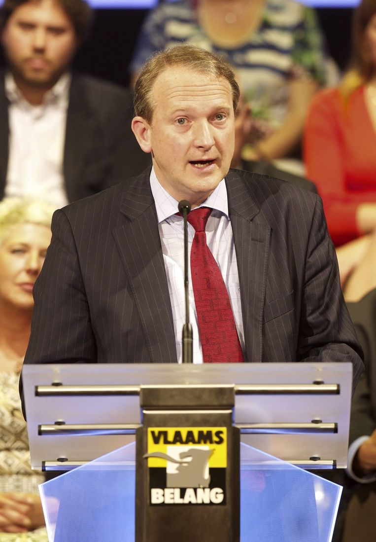 Bart Laeremans (Vlaams Belang). Beeld BELGA
