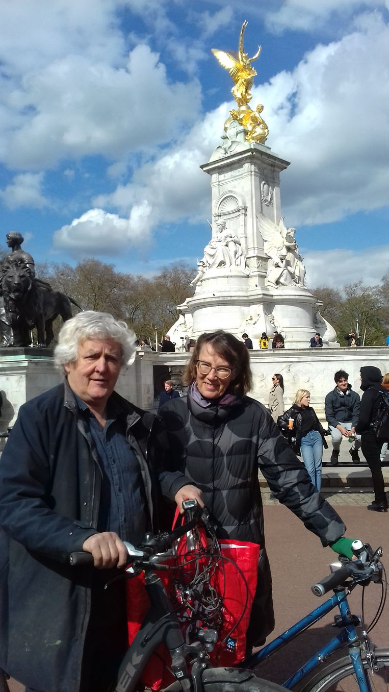 James en Christine Hughes-Onslow. Beeld Patrick van IJzendoorn