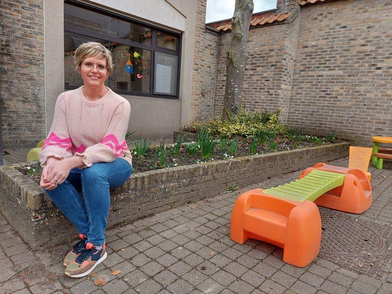 Loes Vandromme (CD&V): 'Het leerrecht wordt op sommige plaatsen echt geschonden.' Beeld Laurie Bailliu