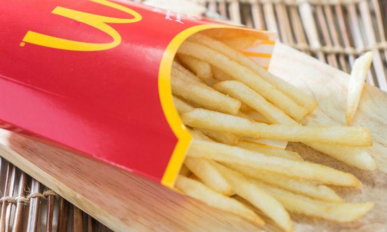 mcdonalds frietjes