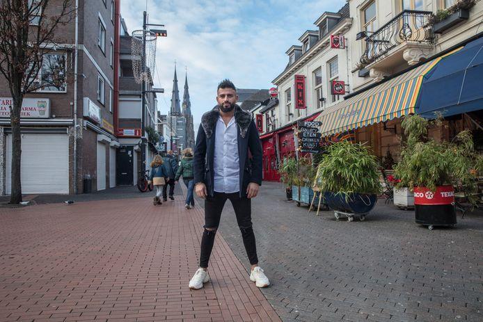 DJ Kaan Deniz op het Stratumseind in Eindhoven (archieffoto).