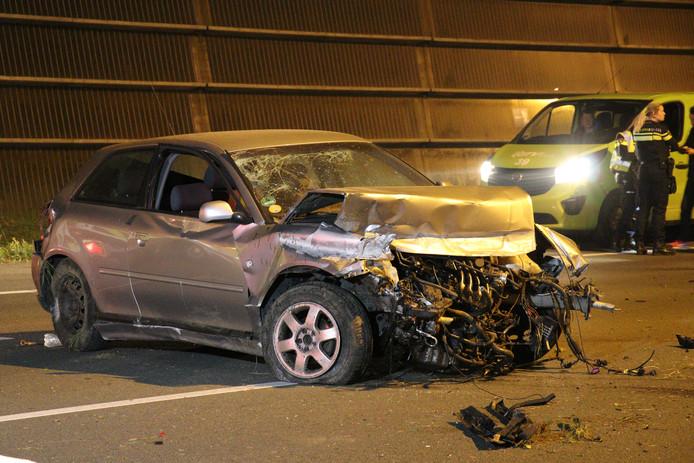 Bestuurder overleden na eenzijdig ongeval op A2 bij Everdingen