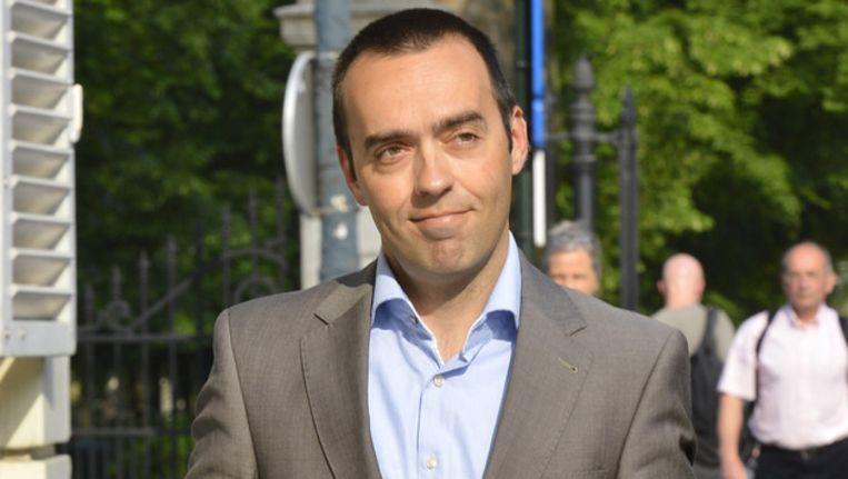 Sp.a-voorzitter Bruno Tobback. Beeld BELGA