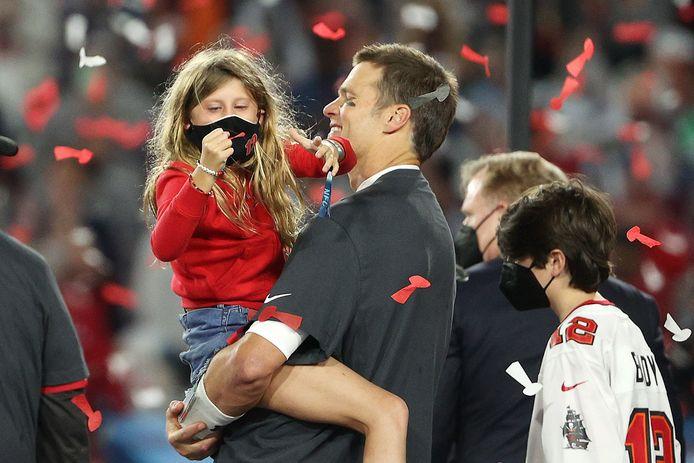 Tom Brady et sa fille