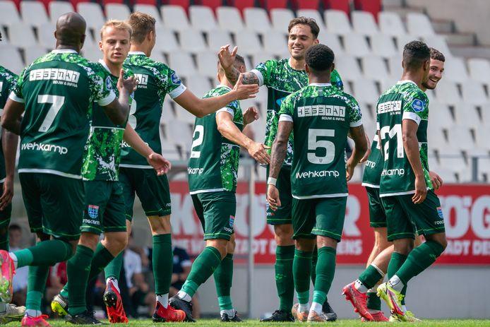 PEC versloeg donderdag Rot-Weiss Essen met 3-1.