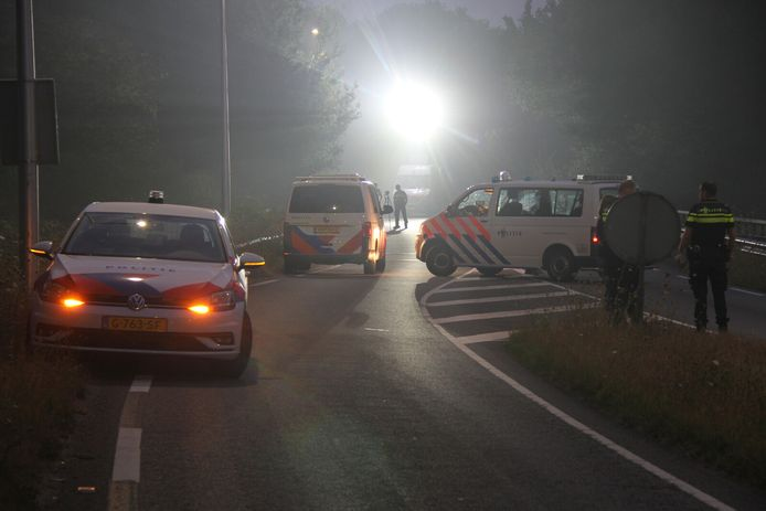 Ongeval op de N347 bij Nijverdal.