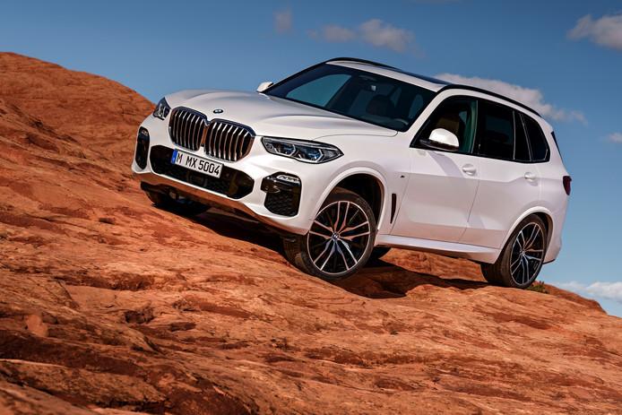 De nieuwe generatie van de BMW X5: zeer herkenbaar, maar groter dan voorheen